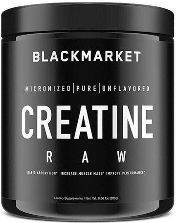 BlackMarket Labs Creatine RAW 60 servings