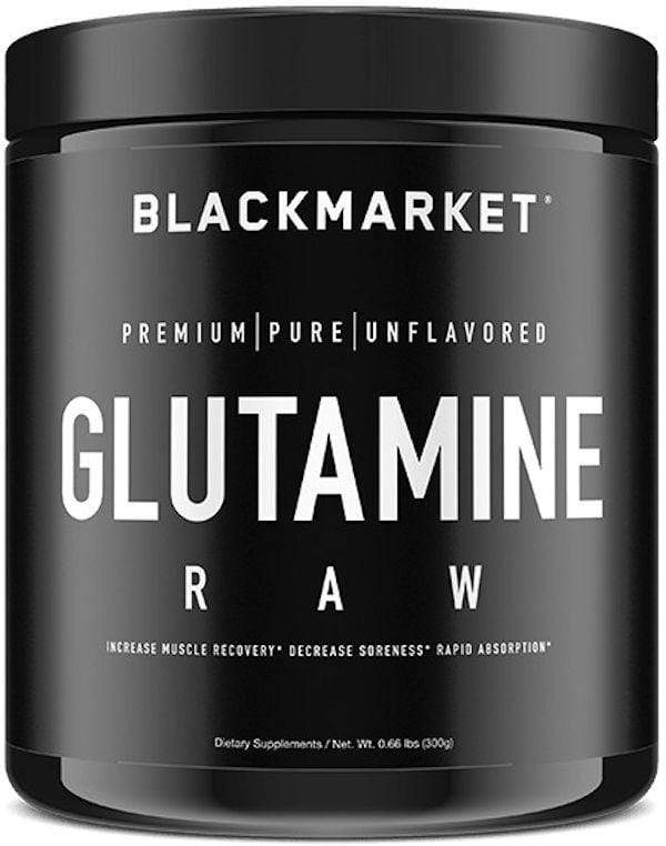 Black Market Labs Glutamine BlackMarket Labs L-Glutamine RAW