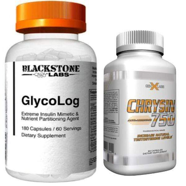 Blackstone Labs Test Booster Blackstone Labs Glycolog Limited offer FREE GenXLabs Chrysin