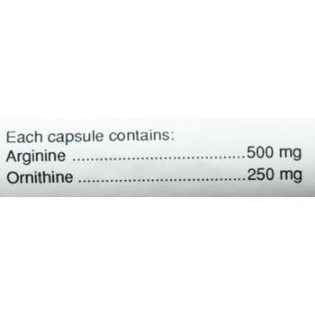 Body and Fitness Amino Acids Body & Fitness L-Arginine & Ornitine 100 cap