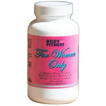Body and Fitness Health Body & Fitness For Women Only 240 Caps