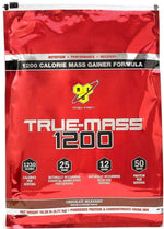 BSN Protein chocolate milkshake BSN True-Mass Gainer 1200 10.25 lbs BLOWOUT w/FREE SHIPPING