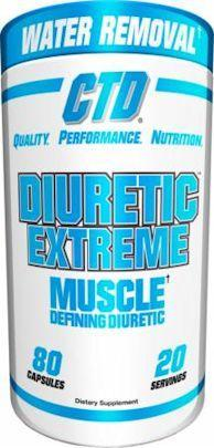CTD Sports Diuretic Extreme 80 caps