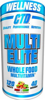 CTD Sports Multi Vitamin CTD Labs Multi-Elite Multivitamin 120 tabs