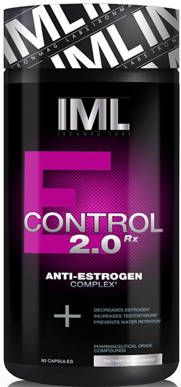 IronMag Labs E-Control Anti-Estrogen 90 ct CLEARANCE SALE