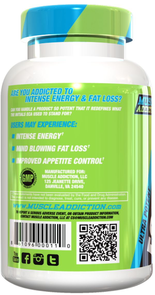 Muscle Addiction ECA Stack weight Loss