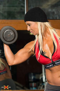 FREE GIFT Free Gift Free GenXLabs Sports Zipped Front Bra with any Muscle Stack (code: bra)