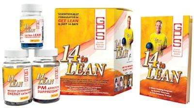 FREE GIFT Free Gift Free Gunnar Peterson 14 to Lean FREE with any Weight Loss Purchase (code: 14)
