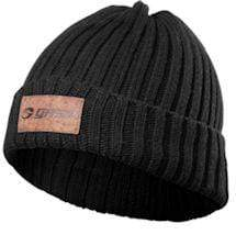 Gasp Heavy Knitted Hat Black (OUT OF STOCK)
