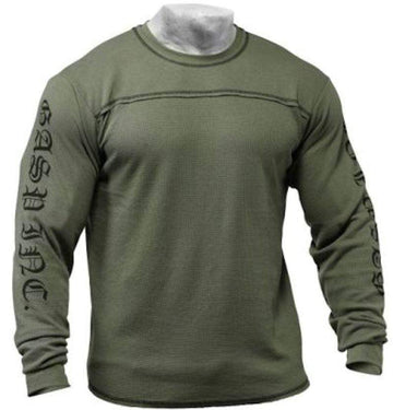 GASP Men's Thermal Longsleeves Wash Green
