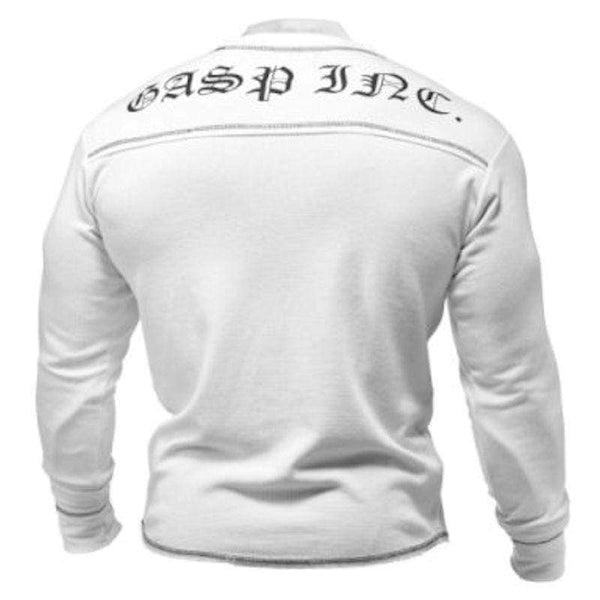 GASP Men Clothing GASP Men's Thermal Longsleeves White