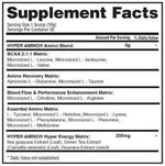 Gaspari Nutrition BCAA Blue Raspberry Gaspari HyperAmino 30 serving