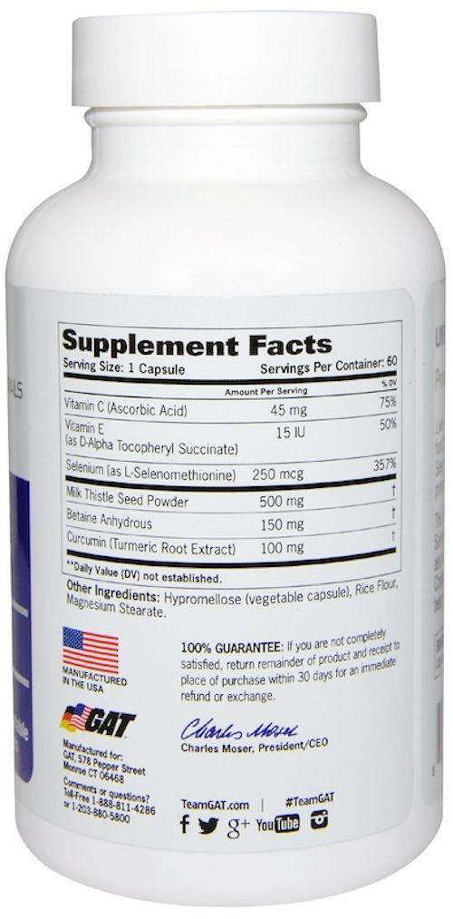 GAT Sports Liver Support GAT Sports Liver Cleanse