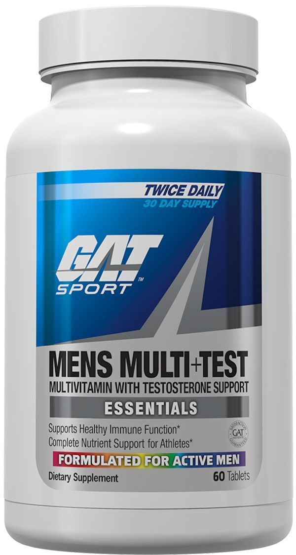 GAT Sports Multi Vitamin GAT Sports Mens Multi+Test 60 caps