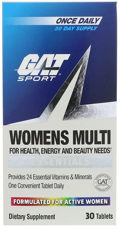 GAT Sports Multi Vitamin GAT Sports Women's Multi Vitamin 30 Tabs