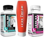 GenXLabs Fat Burner GenXLabs Lean Weight Loss Stack- Lean Cream, Lean 700, LeanX4