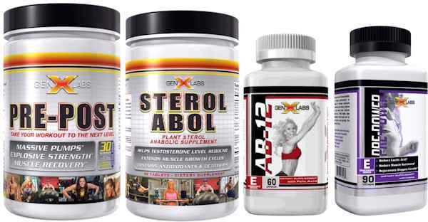 GenXLabs Muscle Growth GenXLabs Endurance Stack