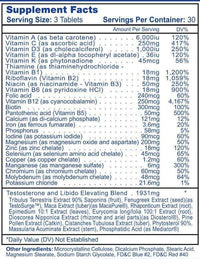 Hi-Tech Pharmaceuticals Multi Vitamin Hi-Tech Pharmaceuticals Testovite 90 tabs
