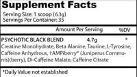 Insane Labz Creatine Insane Labz Psychotic Black 35 servings