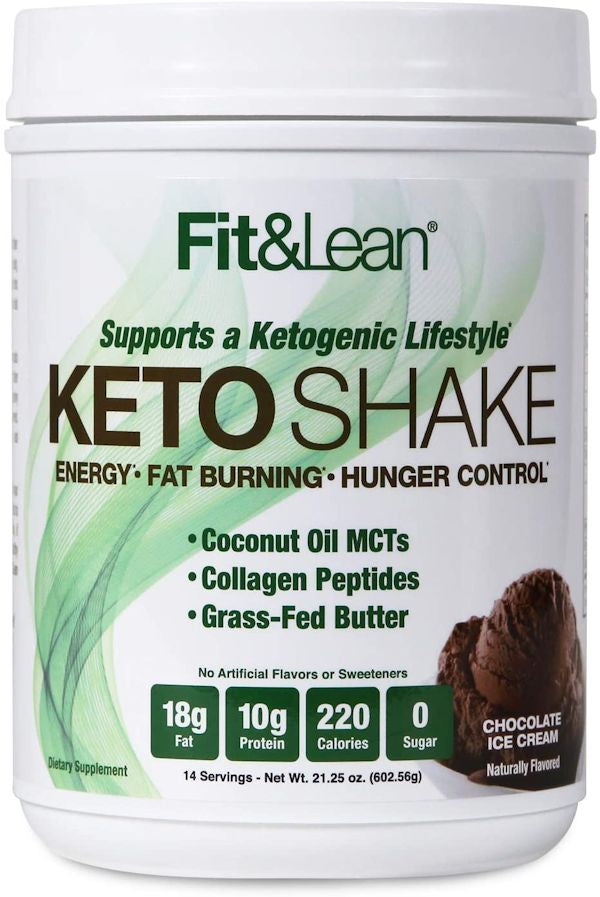 MHP Fit & Lean Keto Shake 14 servings