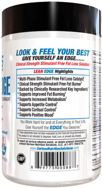 SNS Lean Edge Fat burner