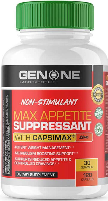 Genone Labs Max Appetite Suppressant 120 caps