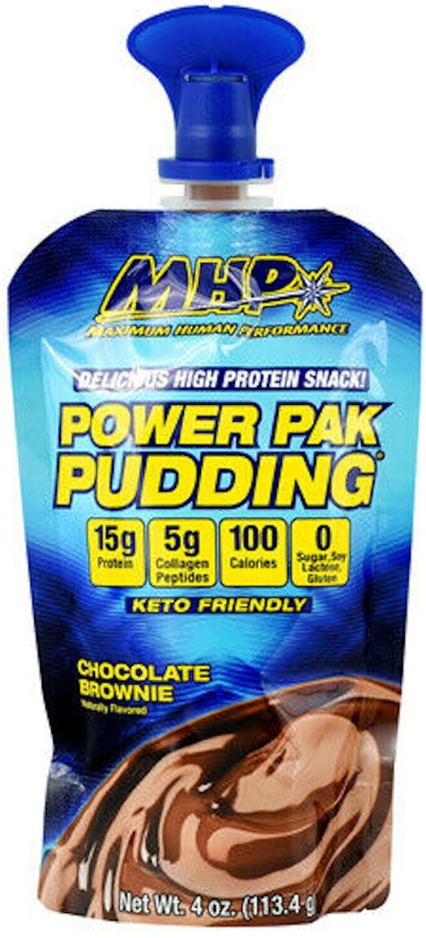 MHP Ready To Go MHP Power Pouches Pudding