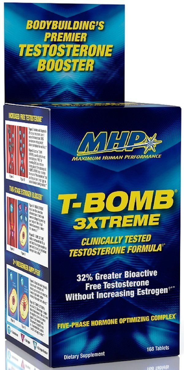 MHP Test Booster MHP T-Bomb 3Xtreme 168 Tabs