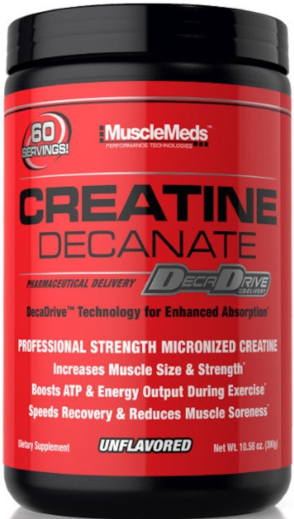 MuscleMeds Creatine MuscleMeds Creatine Decanate 60 serving