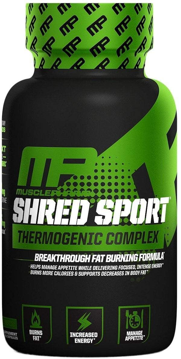 MusclePharm Weight Loss MusclePharm Shred Sports