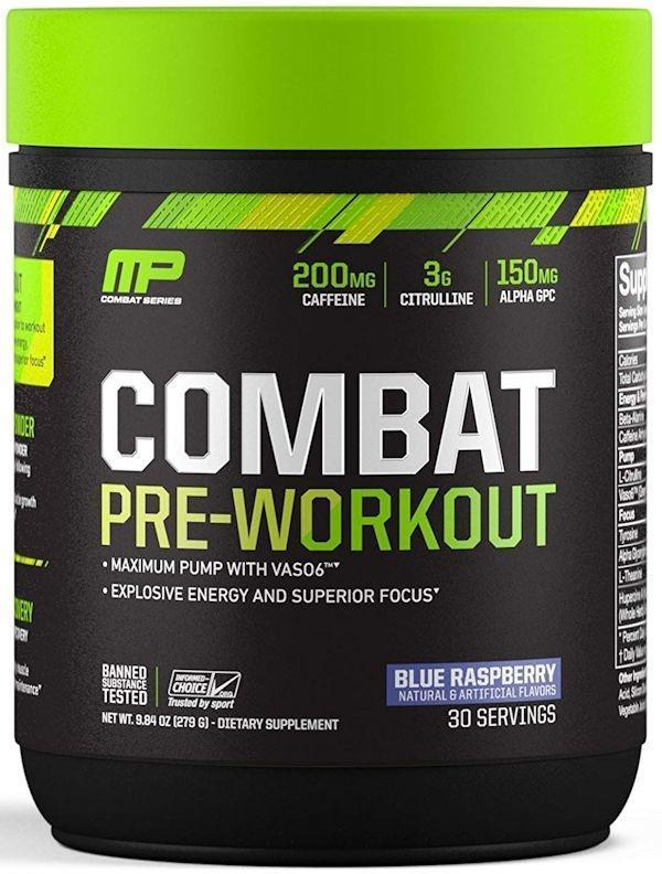 MusclePharm Muscle Pumps Fruit Punch MusclePharm Combat Pre-Workout