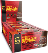 Mutant Nutrition Bars Chocolate Fudge Mutant Protein Brownie 12 bars