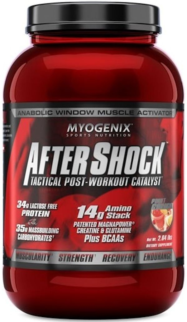 Myogenix Protein WILDBERRY BLAST Myogenix After Shock 2.64 lbs