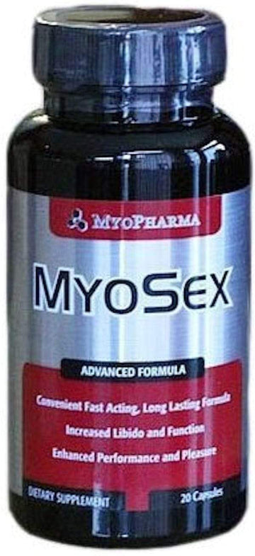 MyoPharma MyoSex 20 caps (Discontinue Limited Supply)