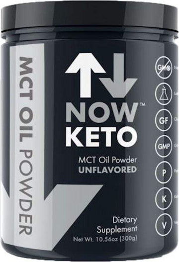 Now Keto MCT Oil Powder 30 servings