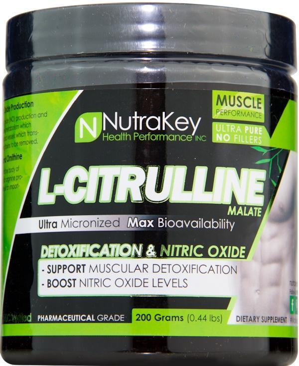 Nutrakey Muscle Pumps NutraKey Citrulline Malate Powder 200 gms