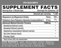 Nutrex Research Diuretics Nutrex Research Lipo 6 Black Diuretic