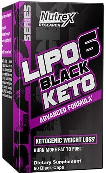 Nutrex Lipo-6 Black Keto 60 ct