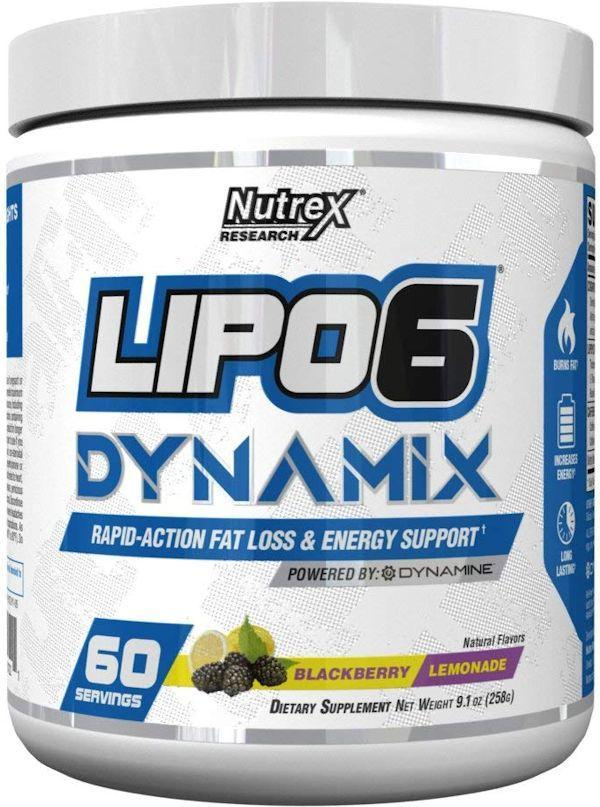Nutrex Research Weight Loss Strawberry Kiwi Nutrex Lipo-6 Dynamix 60 servings