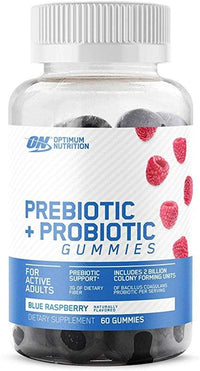 Optimum Nutrition Immune Blue Raspberry Optimum Nutrition Prebiotic + Probiotic Gummies