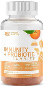 Optimum Nutrition Immune Tangerine Optimum Nutrition Immunity + Probiotic Gummies  30 servings