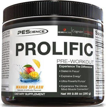 PEScience Prolific 40 servings
