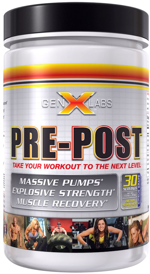 GenXLabs Pre-Workout GenXLabs Pre-Post Workout (code: 25off)