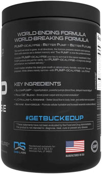 BUCKED UP PUMP-ocalypse 30 servings