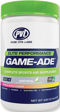 Pure Vita Labs Pre-Workout Tropical Punch Pure Vita Labs Game-Ade 60 servings
