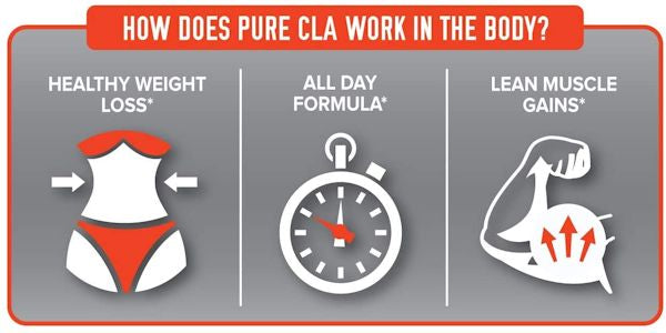 FinaFlex Pure CLA natural fat loss lean muscle