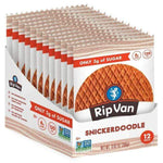Rip Van Wafels Protein Bars, Cookie and Food SNICKERDOODLE Rip Van Wafels WAFELS 12 pack