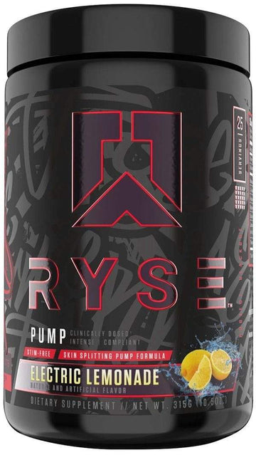 Ryse Supplements Blackout Pump 25 servings