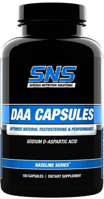 SNS Serious Nutrition Solutions DAA 180 Caps