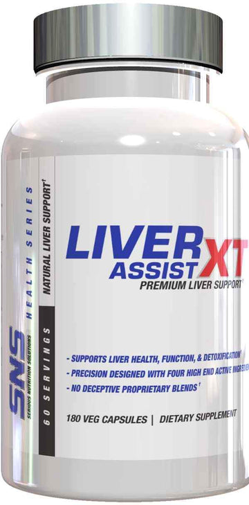 SNS Serious Nutrition Solutions Liver Assists XT 180 vcaps